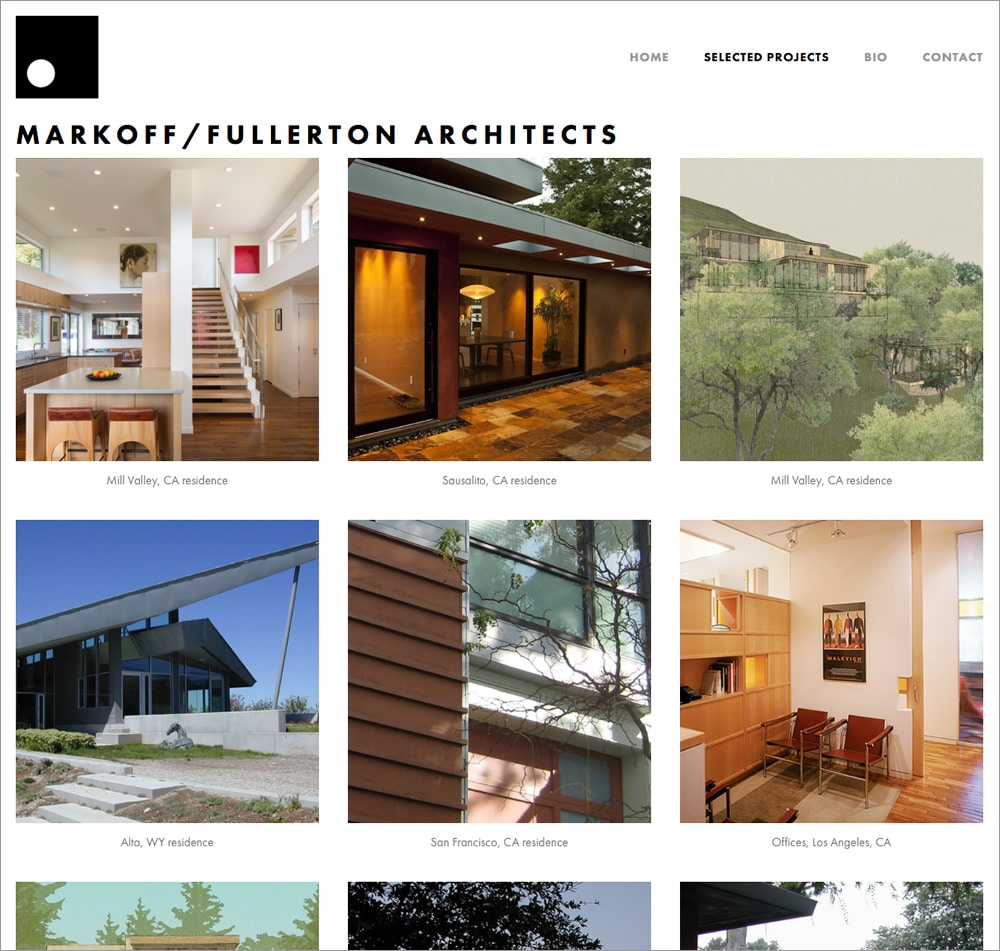 Markoff-Fullerton Architects Projects