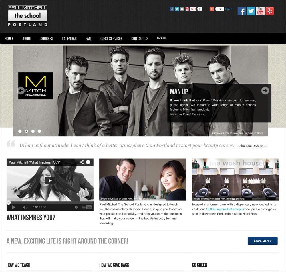 Paul Mitchell The School Homepage