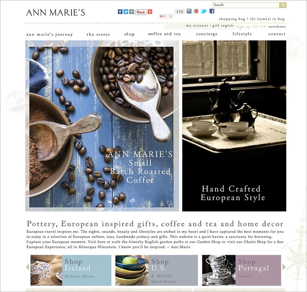 Ann Marie Homepage
