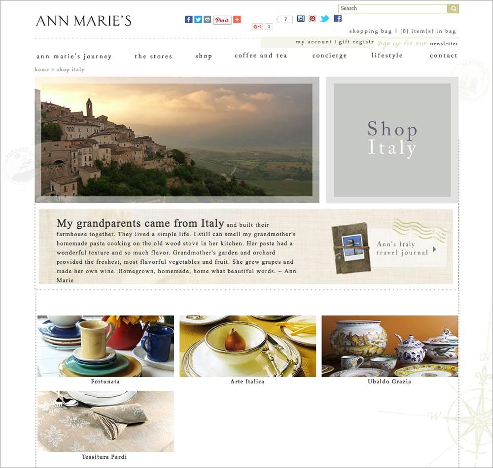 Ann Marie - Shop