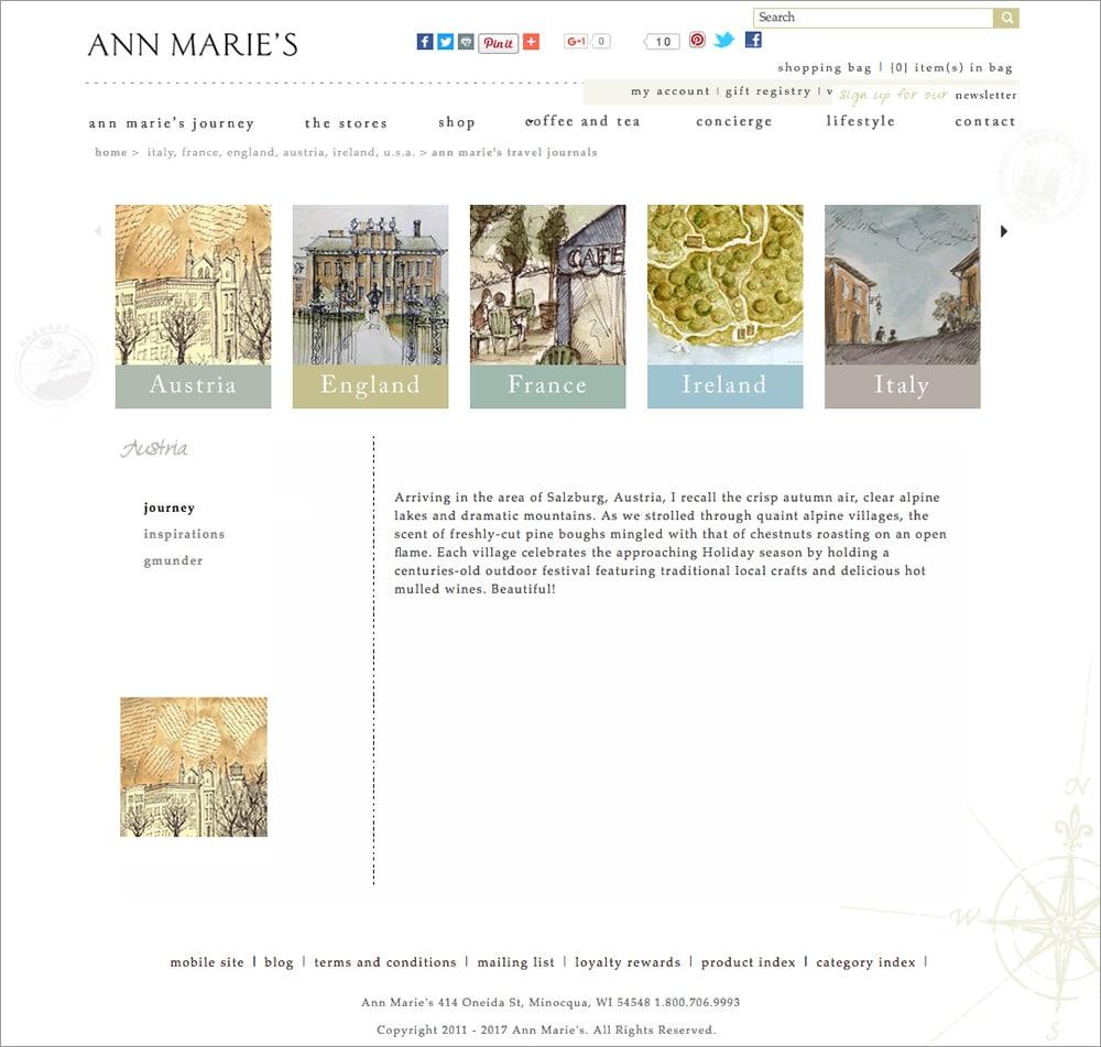 Ann Marie - Travel