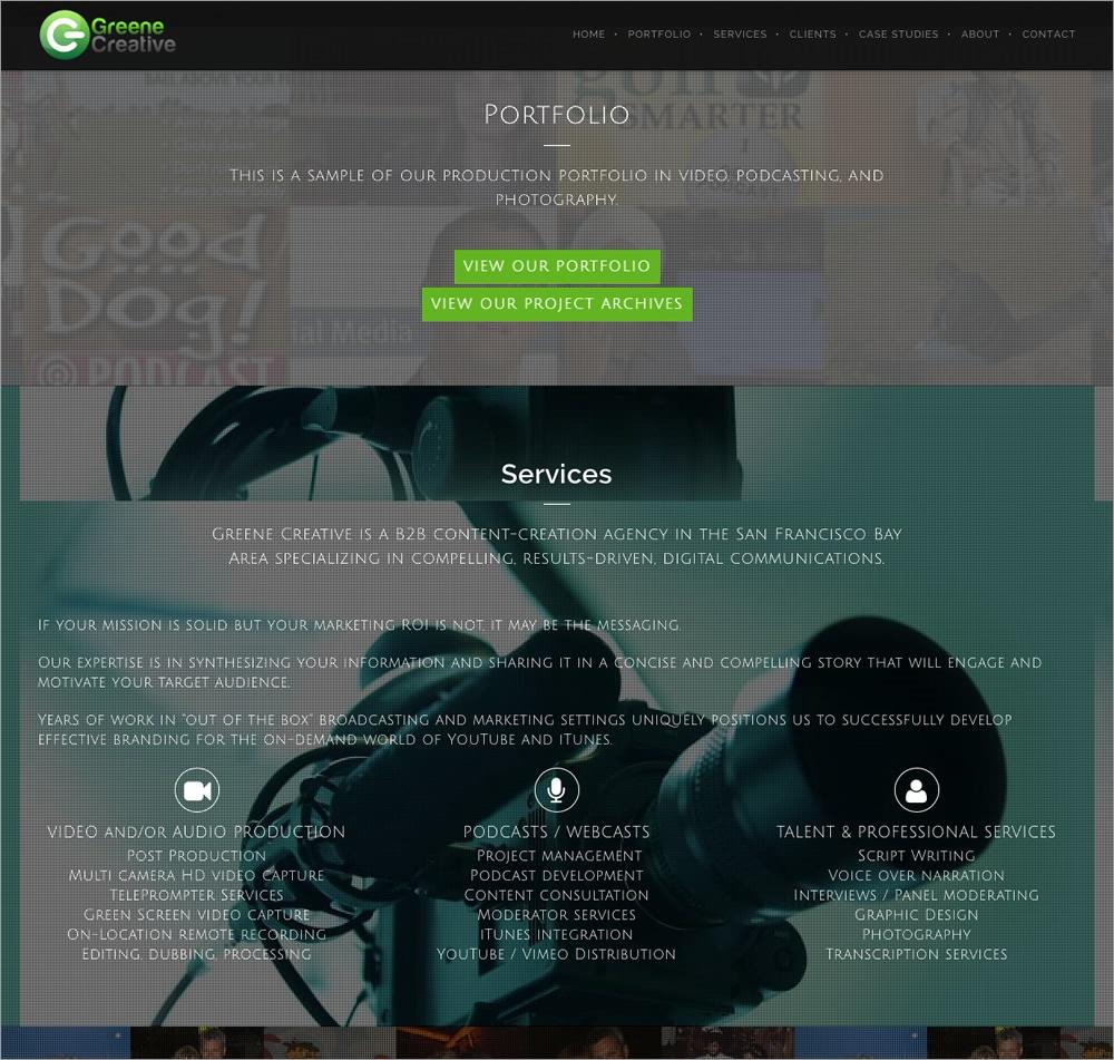 Greene Creative - Services