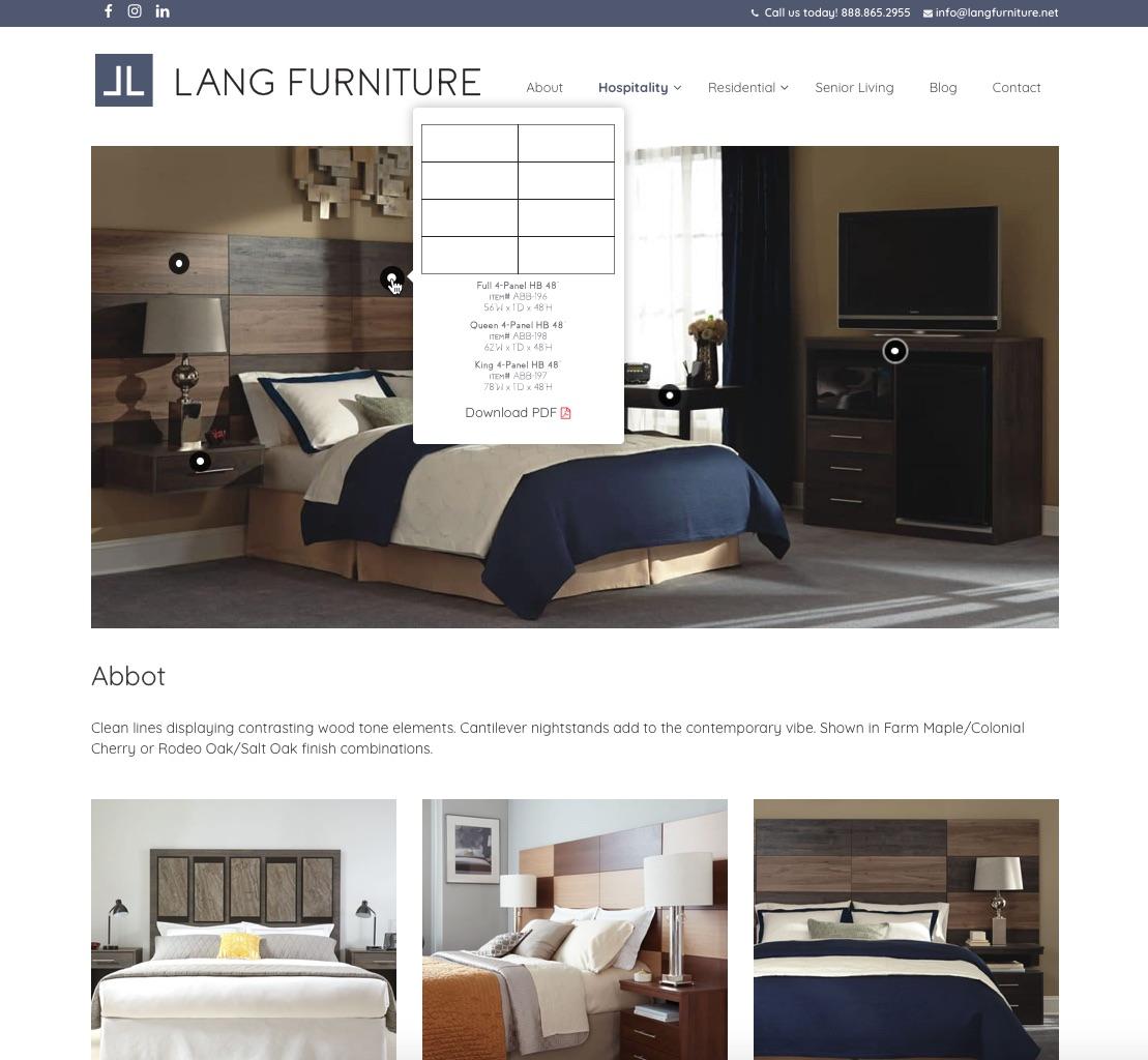 Lang Furniture Collection