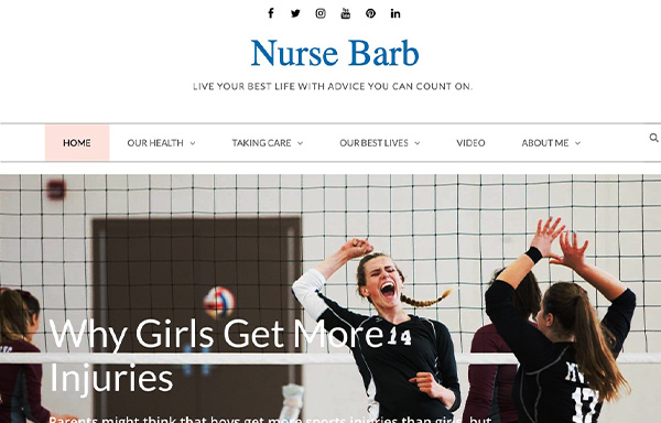 Nurse Barb homepage