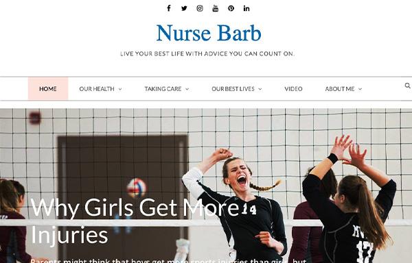 Nurse Barb homepage