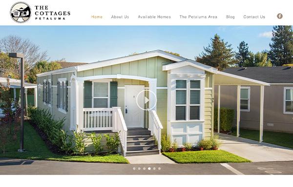 The Cottages of Petaluma Website